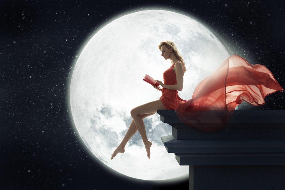 A nőiség örök jelképe: a Hold