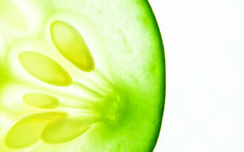 Gyógyító uborkatekercsek