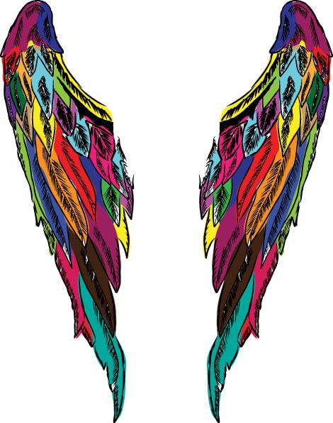angyalszárny angyali színek