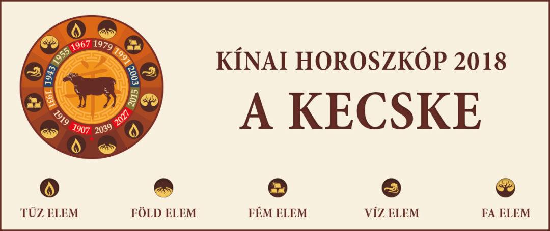 A Kecske – Kínai horoszkóp 2018