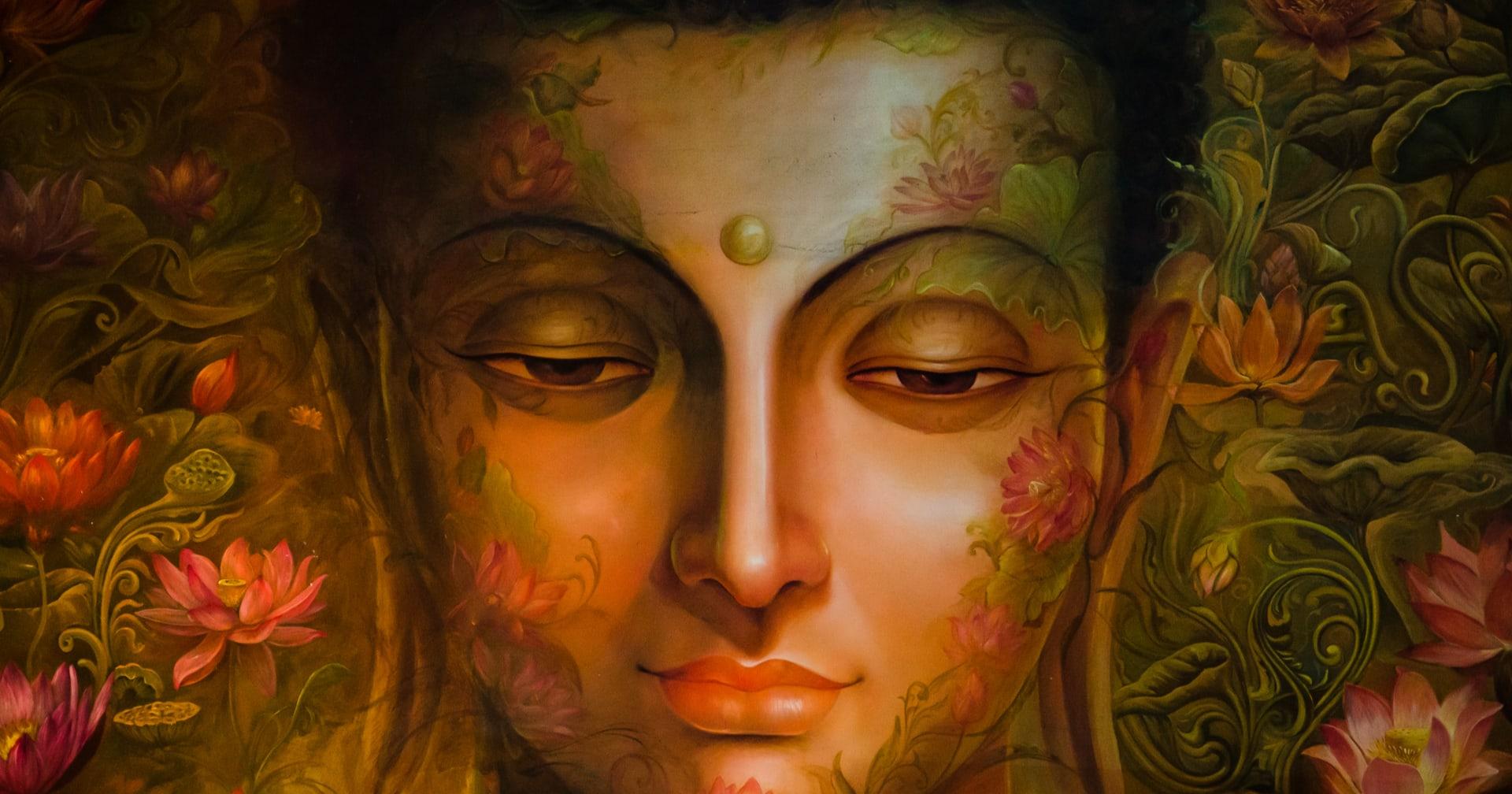 buddha arckép