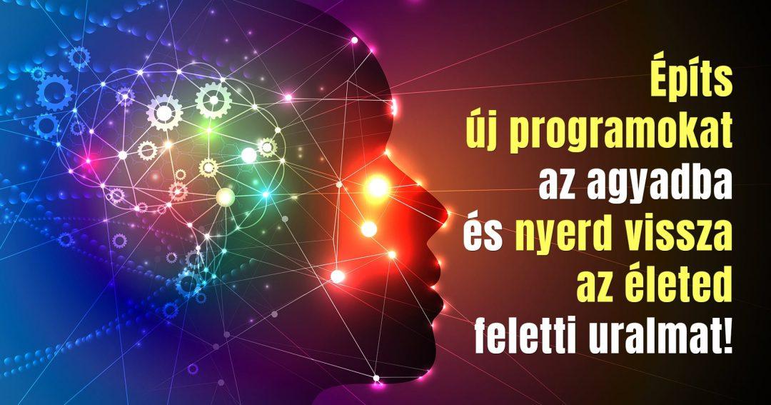 Építs új programokat az agyadba és nyerd vissza az életed feletti uralmat!