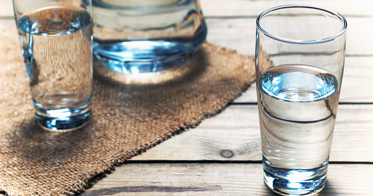 Napi pár pohár víz a hosszú életért