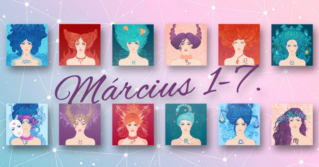 Chani Nicholas Heti horoszkóp Március 1-7.