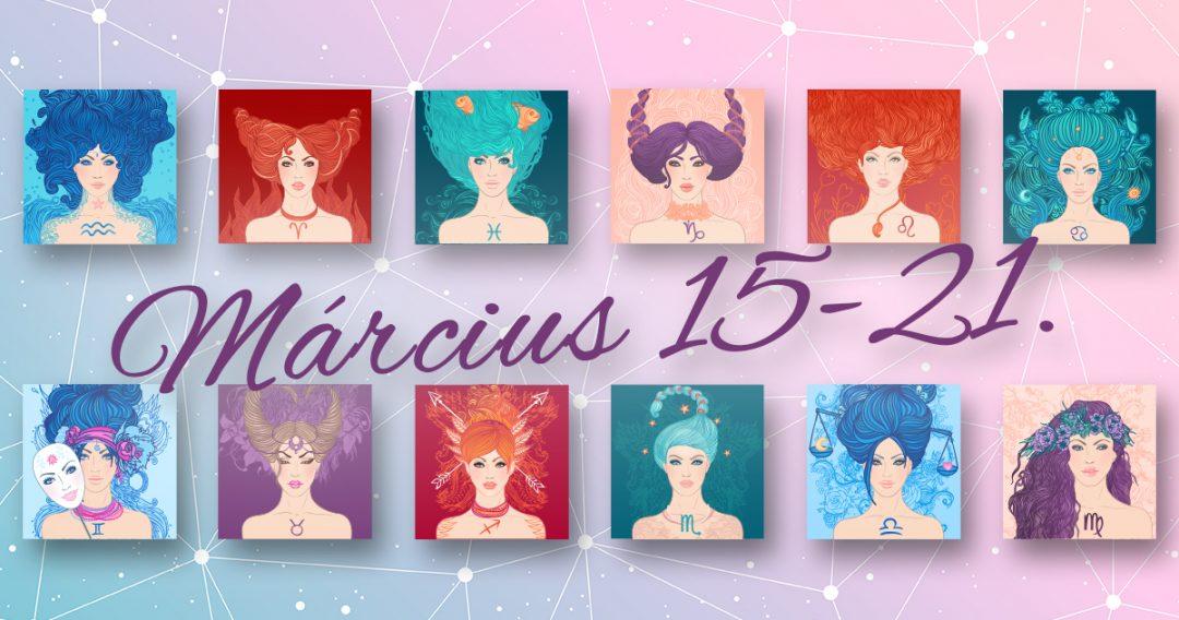 Chani Nicholas Heti horoszkóp Március 15-21.