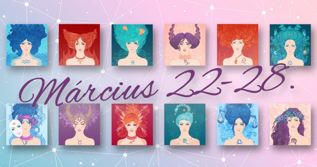 Chani Nicholas Heti horoszkóp Március 22-28.