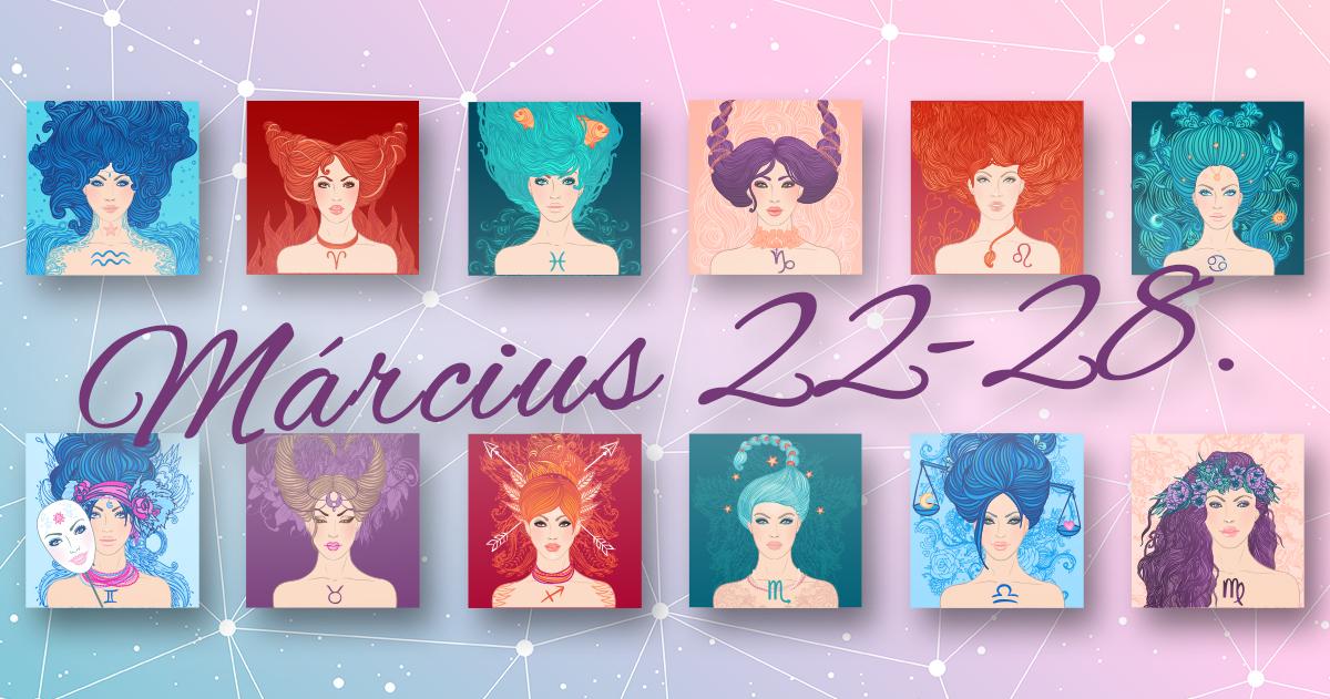 Chani Nicholas <br>Heti horoszkóp Március 22-28.</br>