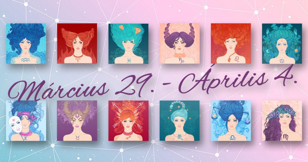 Chani Nicholas Heti horoszkóp Március 29 – Április 4