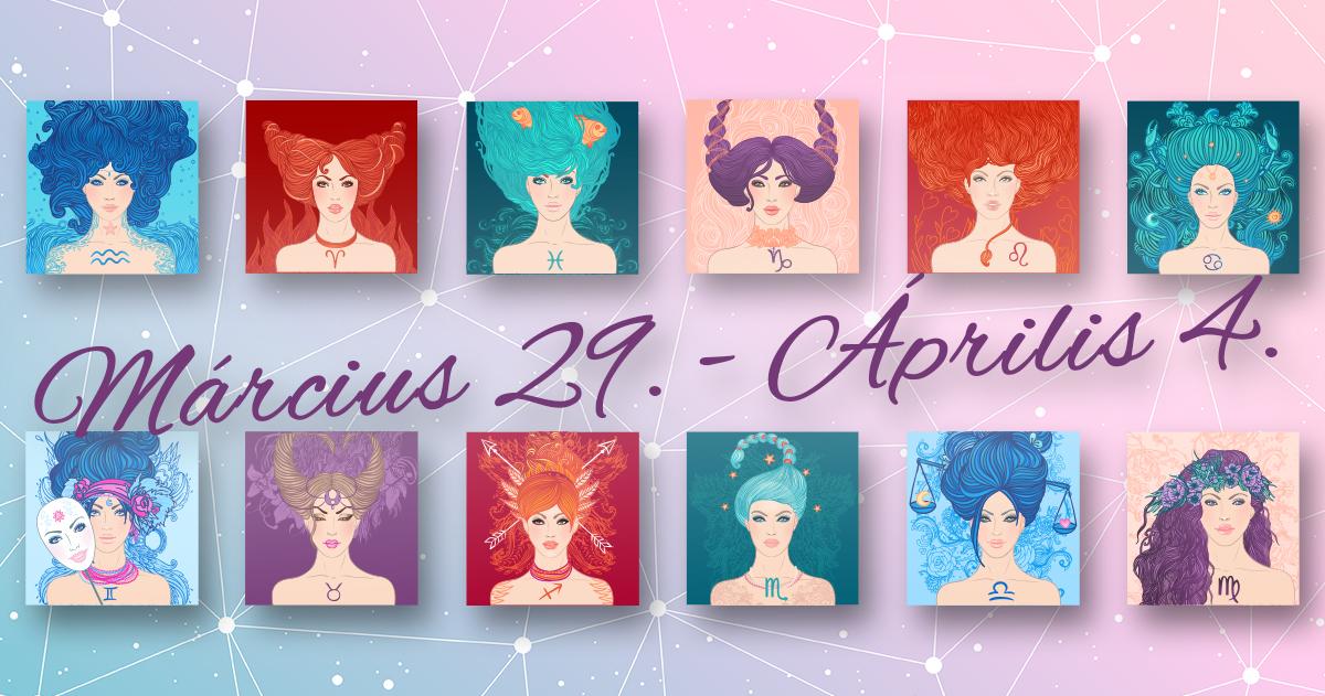 Chani Nicholas <br>Heti horoszkóp Március 29 – Április 4</br>
