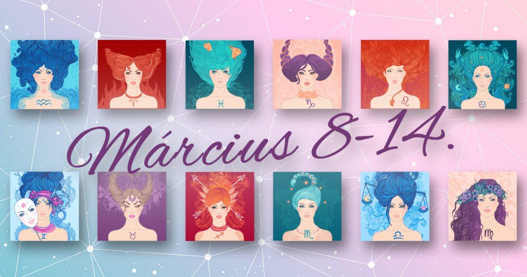 Chani Nicholas Heti horoszkóp Március 8-14.