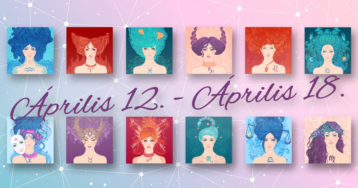 Chani Nicholas <br>Heti horoszkóp Április 12. – Április 18.</br>