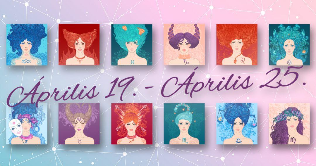 Chani Nicholas Heti horoszkóp Április 19. – Április 25.
