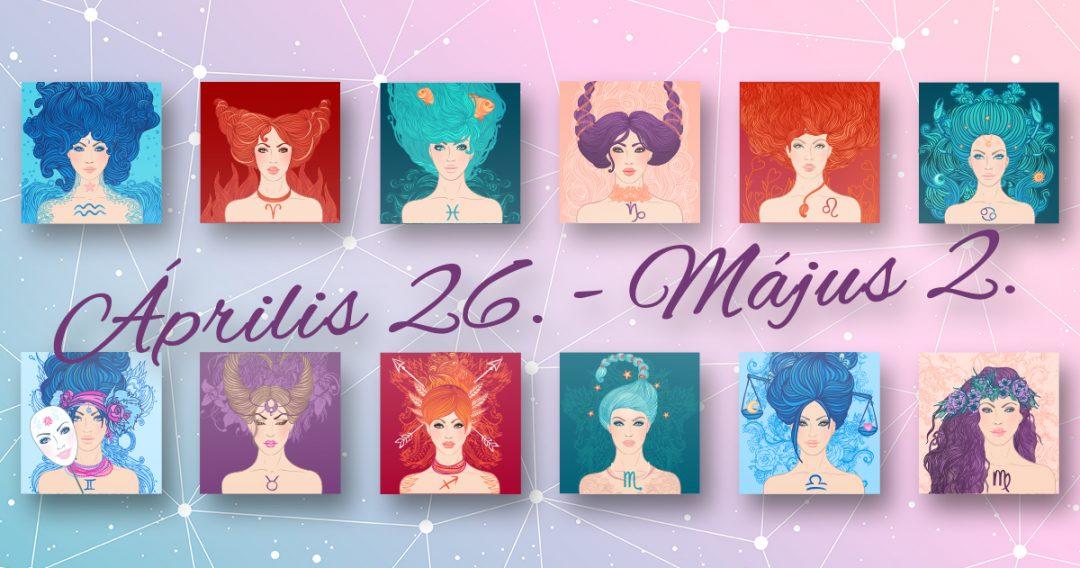 Chani Nicholas Heti horoszkóp Április 26. – Május 2.