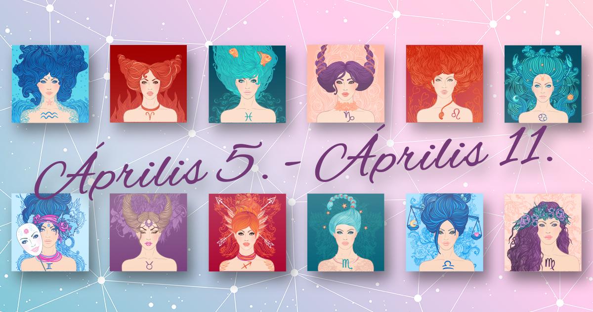 Chani Nicholas <br>Heti horoszkóp Április 5. – Április 11.</br>