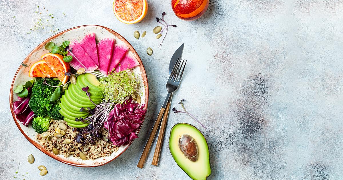 Teljes értékű növényi étrenddel az egészségedért