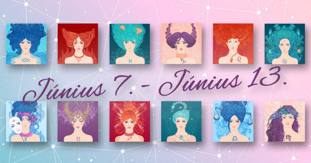 Chani Nicholas Heti horoszkóp Június 7. – Június 13.