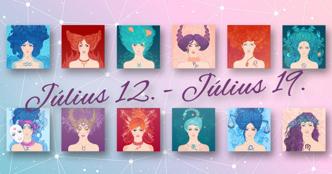 Chani Nicholas Heti horoszkóp Július 12. – Július 19.