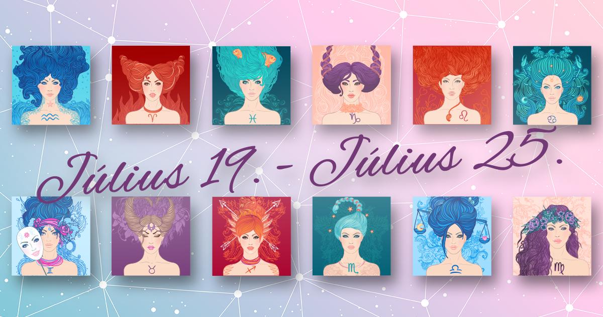 Chani Nicholas <br>Heti horoszkóp Július 19. – Július 25.</br>