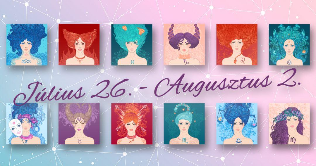 Chani Nicholas Heti horoszkóp Július 26. – Augusztus 2.