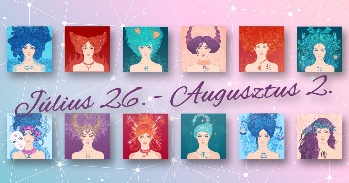 Chani Nicholas <br>Heti horoszkóp Július 26. – Augusztus 2.</br>