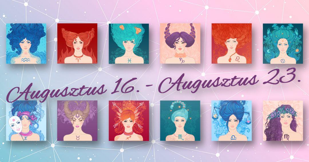 Chani Nicholas Heti horoszkóp Augusztus 16. – Augusztus 23.